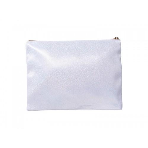 White Glitter Pencil/Makeup Case(16.5*23cm)