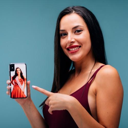Carcasă telefon sublimabilă iPhone X, Xs (Plastic,Clear)