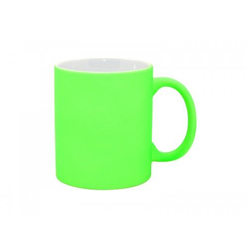 Cană neon verde sublimabil