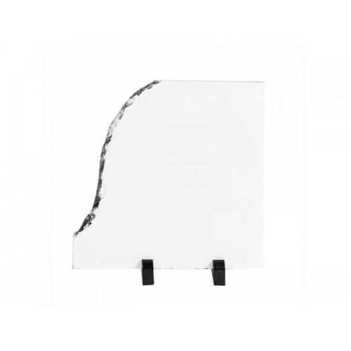 Placă ardezie sublimabilă deschidere stânga, 20x20cm-SH08