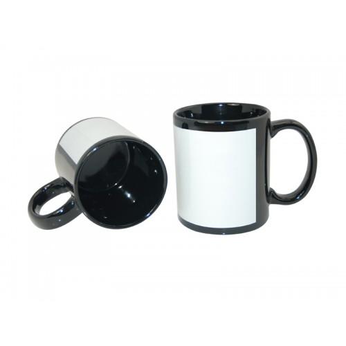 Cană sublimare Patch-Black